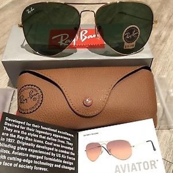 d9575ec3f88 Ray-Ban Aviator Rb3025 L0205 58mm 3025 Sunglasses